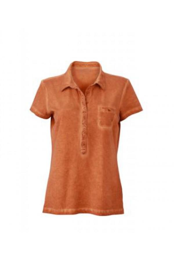 de1b9b50bb Taboo Hungary - James & Nicholson női narancs színű galléros póló