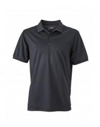 James & Nicholson Férfi fekete színű galléros póló